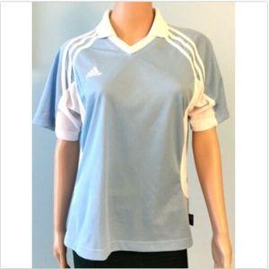 Women's Adidas Climalite Athletic Top Golf Shirt M